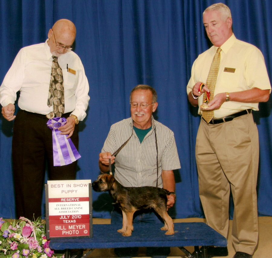 Ottermask British Fire at Lucky Hit (Jett) Taking Reserve BEST IN SHOW