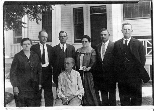 Stella White Beavers at her home in Hamlin, Texas