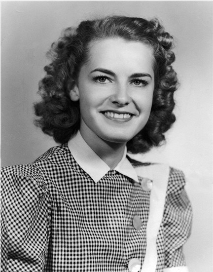 Billie Faye at 16 years	in June, 1942