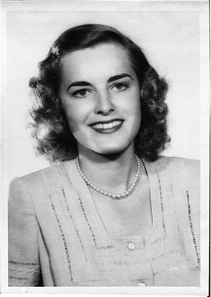 Billie Faye in 1944